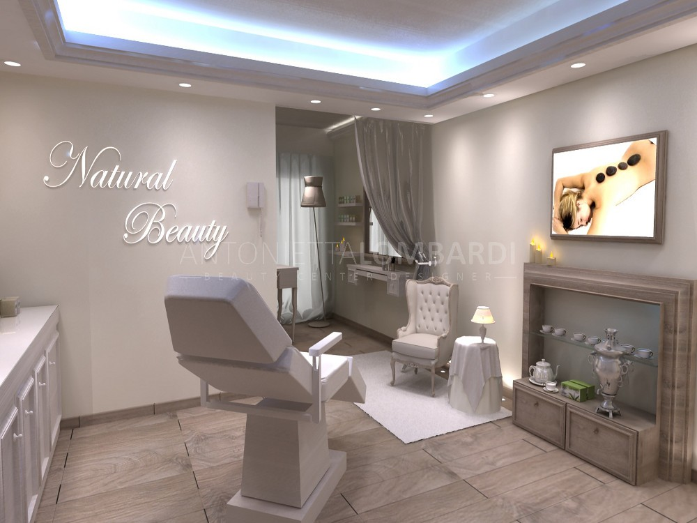 Natural beauty for Arredamento reception estetica