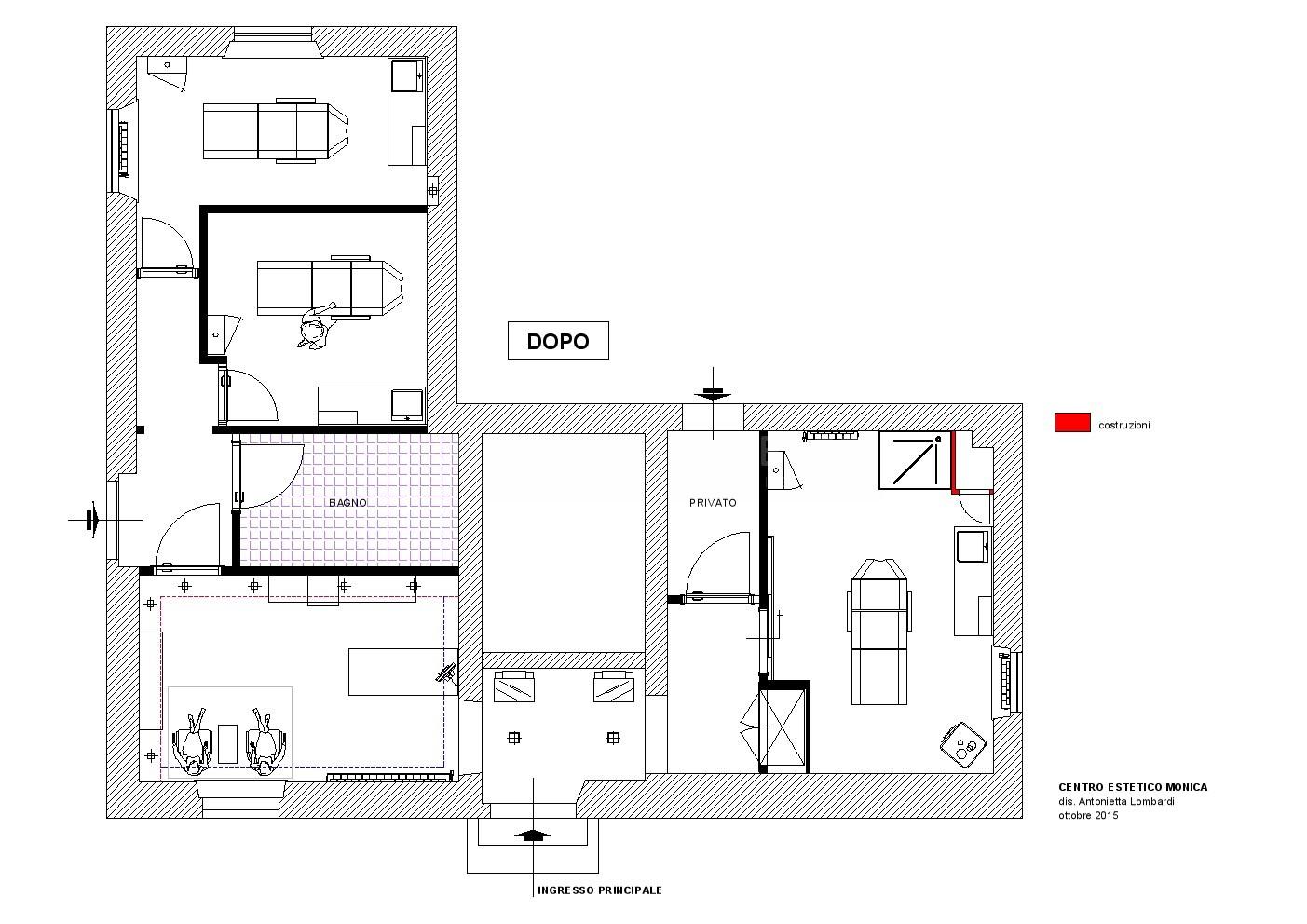 Progettare un centro estetico for Progettare un salone